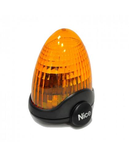Лампа сигнальная для ворот и шлагбаумов Nice LUCYB (12B, BLUEBUS)