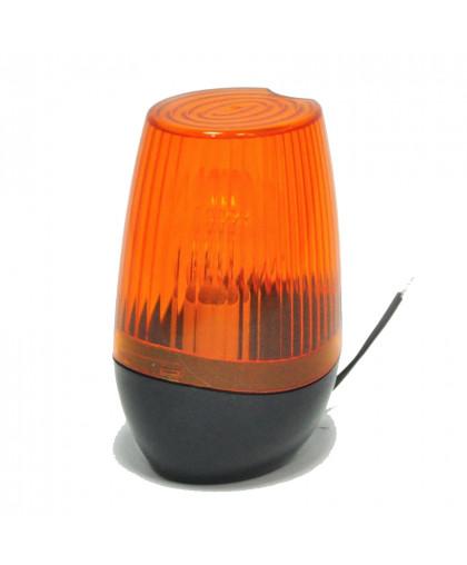 Лампа сигнальная оранжевая AN-MOTORS Pulsar для ворот и шлагбаумов