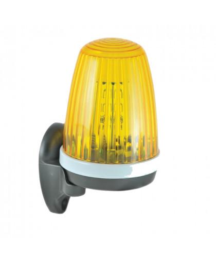 Лампа сигнальная желтая AN-MOTORS F5000 для ворот и шлагбаумов