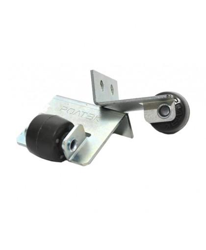 Верхний составной роликовый уловитель Ролтэк для откатных ворот