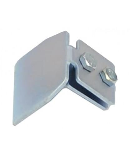 Заглушка металлическая Ронг для откатных ворот